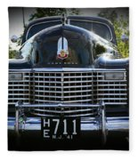 1941 Cadillac Front End Fleece Blanket