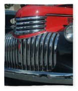 1942 Chevrolet Pickup Truck Grill   # Fleece Blanket