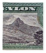 1946 Ceylon - Sri Lanka - Stamp Fleece Blanket