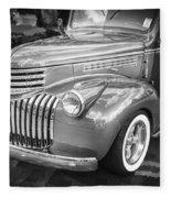 1946 Chevrolet Sedan Panel Delivery Truck Bw Fleece Blanket