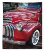 1946 Chevrolet Sedan Panel Delivery Truck  Fleece Blanket