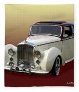1947 Bentley M K  5   G T X  Fleece Blanket