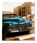 1947 Cadillac Convertible Fleece Blanket