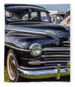 1948 Plymouth Special Deluxe Coupe  Fleece Blanket