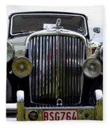 1949 Jaguar  Fleece Blanket