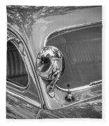 1949 Mercury Club Coupe Bw   Fleece Blanket