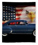 1949 Pontiac Tribute Roger Fleece Blanket