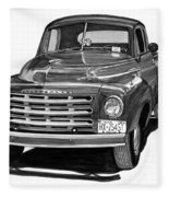 1949 Studebaker Pick Up Truck Fleece Blanket