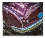 1950 Chevrolet Tailights And Bumper Fleece Blanket