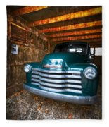 1950 Chevy Truck Fleece Blanket