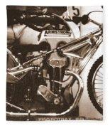 1950 Rotrax-jap Fleece Blanket