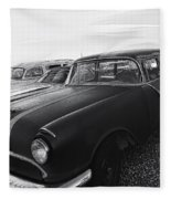 1950's Pontiac By Cathy Anderson  Fleece Blanket