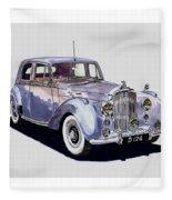 1952 Bentley M K Four Fleece Blanket