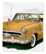 1952 Ford Victoria Fleece Blanket