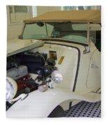 1952 Mg Roadster Fleece Blanket
