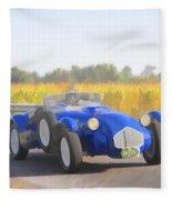 1953 Allard J2x Roadster Fleece Blanket