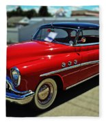 1953 Buick Fleece Blanket