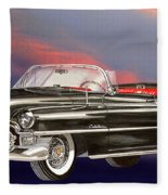 1953  Cadillac El Dorardo Convertible Fleece Blanket