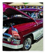1953 Chevy Belair Fleece Blanket