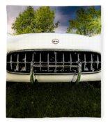 1954 Corvette Stingray Fleece Blanket