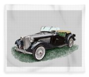 Mg T D 1953 Fleece Blanket