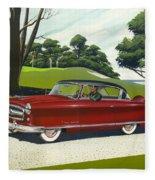 1953 Nash Rambler - Square Format Image Picture Fleece Blanket