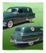 1953 Pontiac Panel Delivery Fleece Blanket