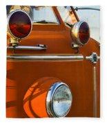 1954 Classic American Lafrance Type 700 Pumper Fire Engine Fleece Blanket