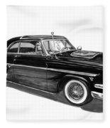 1954 Ford Skyliner Fleece Blanket