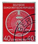 1954 German Democratic Republic Stamp - Berlin Cancelled Fleece Blanket