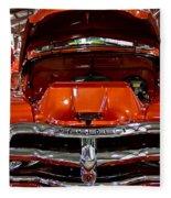 1955 Chevrolet Truck-american Classics-front View Fleece Blanket