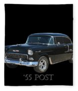 1955 Chevy Post Fleece Blanket