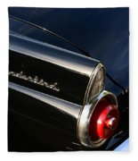 1955 Ford Thunderbird Fleece Blanket