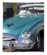 1955 Studebaker Coupe 1 Fleece Blanket