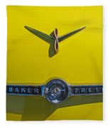 1955 Studebaker Starliner Emblem Fleece Blanket