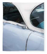 1956 Cadilac Sedan De Ville Fleece Blanket