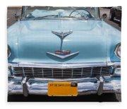 1956 Chevrolet Bel Air Fleece Blanket