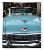 1956 Chevy Bel-air Fleece Blanket