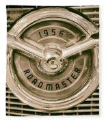 1956 Roadmaster Fleece Blanket