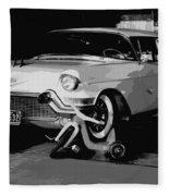 1957 Cadillac Fleece Blanket