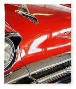 1957 Chevrolet Bel Air Fleece Blanket