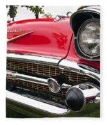 1957 Chevy Bel Air Front End Fleece Blanket