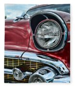 1957 Chevy - My Classic Car Fleece Blanket