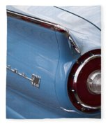 1957 Fairlane 500 Fleece Blanket