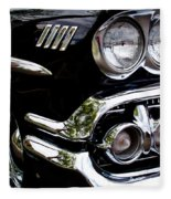 1958 Chevy Bel Air Fleece Blanket