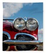 1958 Corvette Fleece Blanket