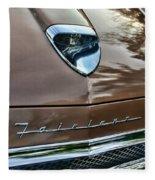 1958 Ford Fairlane 500 Skyliner Fleece Blanket