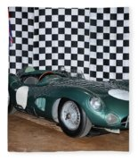 1959 Aston Martin Dbr1 Fleece Blanket