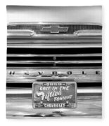 1959 Chevrolet Apache Bw 012315 Fleece Blanket