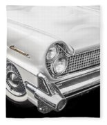 1959 Lincoln Continental Chrome Fleece Blanket
